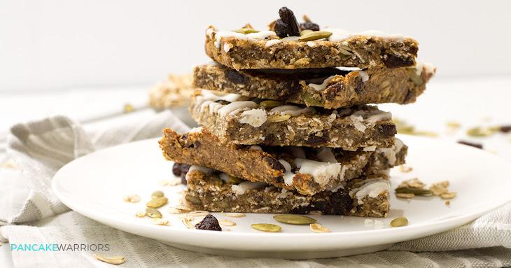 Cinnamon Raisin Oatmeal Protein Bars Recipe