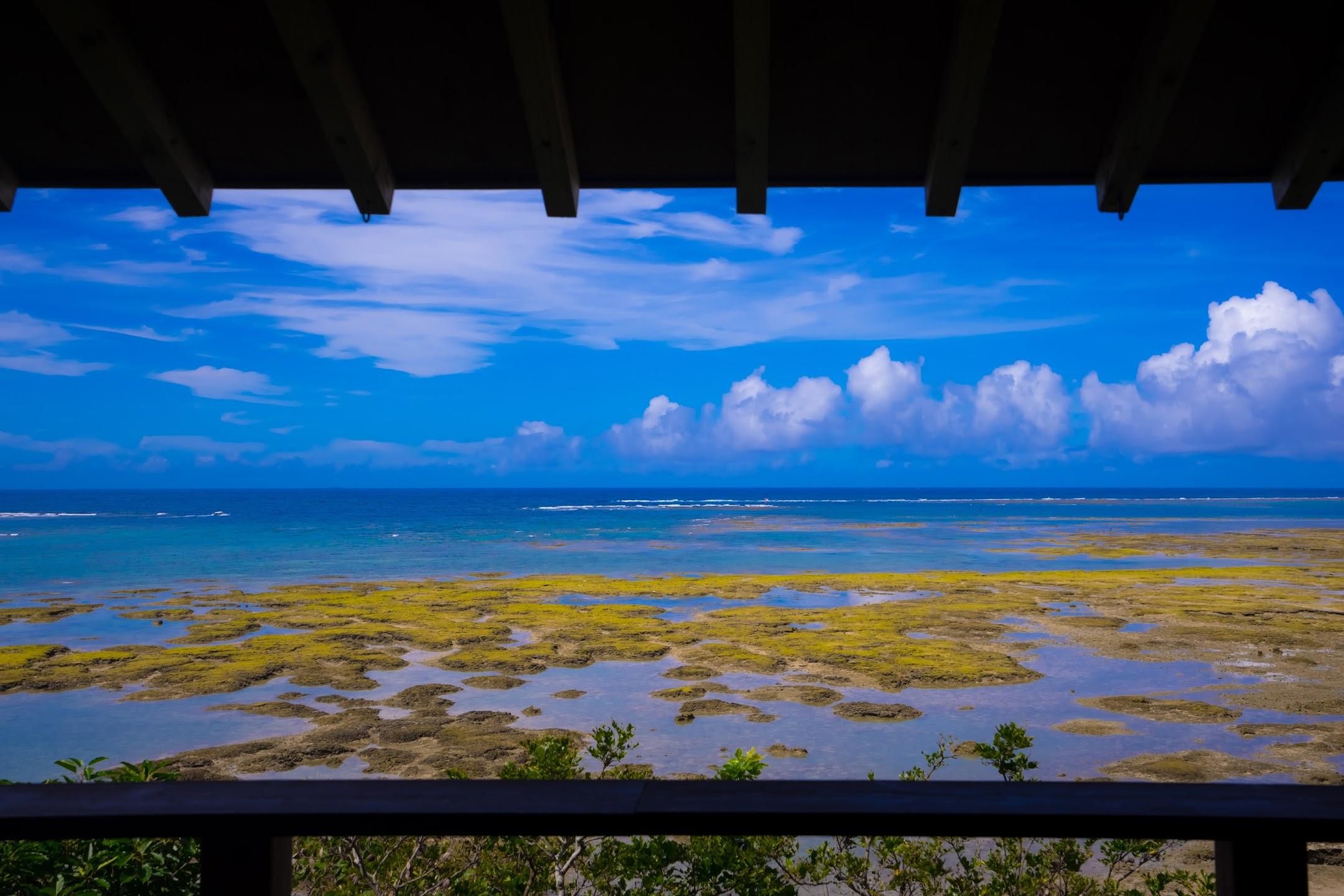 沖縄 新原ビーチ 百名伽藍2