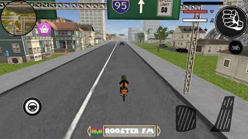 Spider Stickman Rope Hero Grand City Crime 1.0 screenshots 3