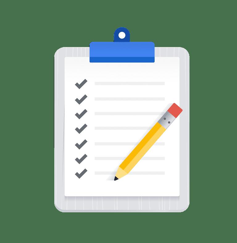 Get started checklist
