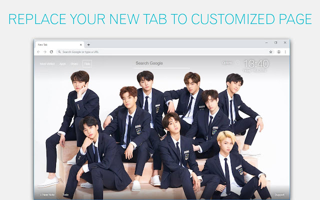 Kpop Stray Kids Backgrounds Hd Custom New Tab
