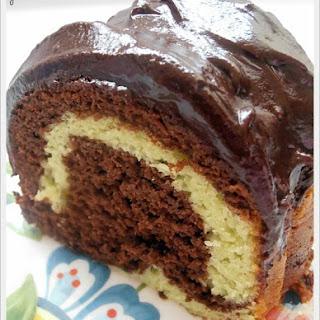 Pistachio Chocolate Bundt Cake