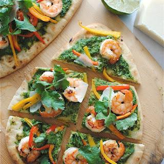 Pizza With Shrimp And Arugula Recipes