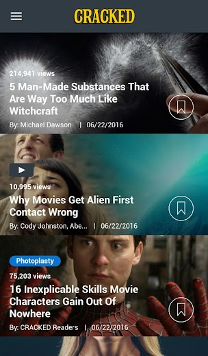 Screenshot 9 for Cracked's Android app'