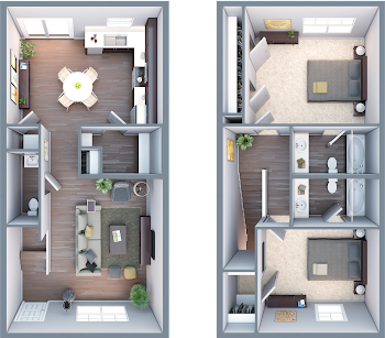 Go to The Bull Shoals Floorplan page.