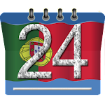 Calendário Portugal Icon