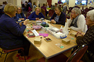 Photo: .... another workshop at the Wyaston Workshop Day, run by members of the branch