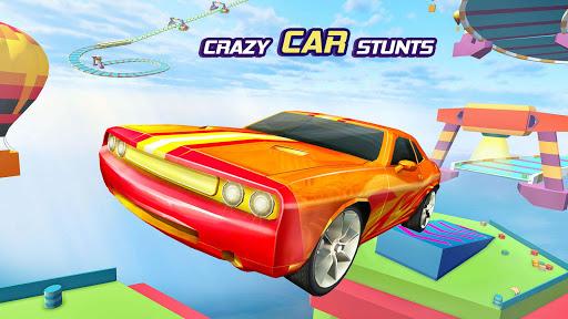 Crazy Car Stunts Mega Ramp Car Racing Games apktram screenshots 2