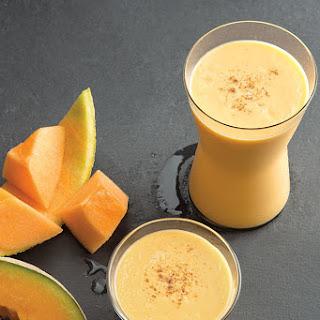 Mango-Melon Smoothie.