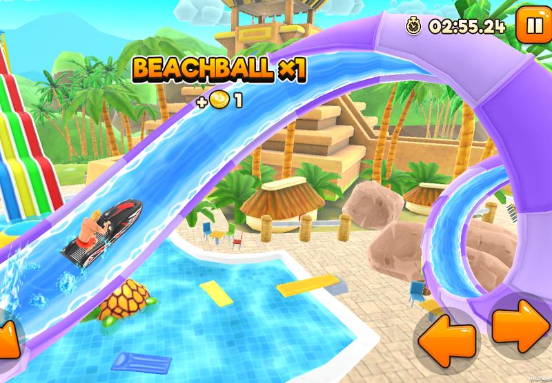 Uphill Rush Water Park Racing Screenshot 2