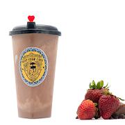Choco-Strawberry milkshake