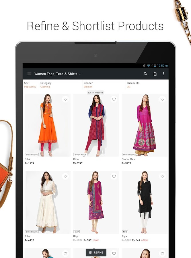 Jabong Online Shopping App Android Apps On Google Play