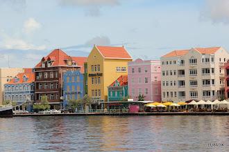Photo: Vista del centro de Willemstad (Punda), Curazao