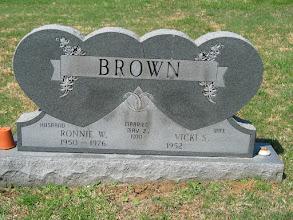 Photo: Brown, Ronnie W. and Vicki S.