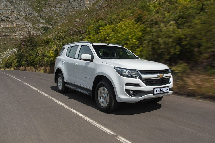 Chevrolet has given the Trailblazer a  better exterior.   Picture: QUICKPIC