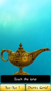 Genie Lamp Make My Wish