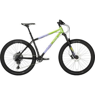 "All-City Electric Queen Bike - 27.5"", Steel, Blue/Lime Splatter"