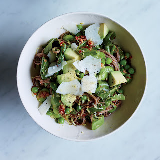 Spring Buckwheat Noodle Salad Recipe