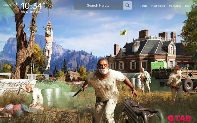 Far Cry 5 Wallpapers New Tab Theme
