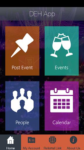 DEH App Screenshot