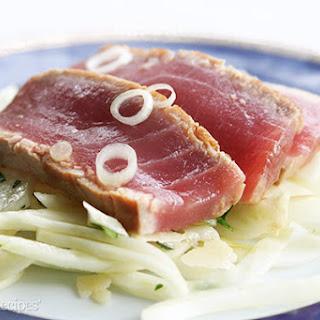 Seared Ahi Tuna.