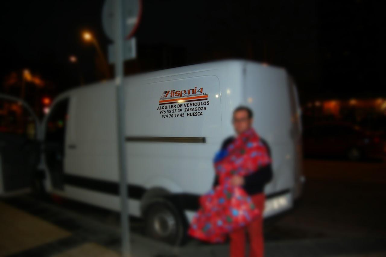 Hispania alquiler de furgonetas Zaragoza colabora con asociaciones sin ánimo de lucro cediéndole furgonetas