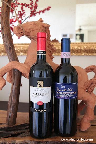 villa borghesi, poggio alla sala, amarone valpolicella, vino nobile montepulciano, great italian wines, red wine italy