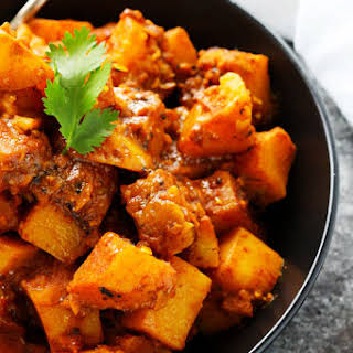 Potato Vindaloo.
