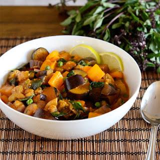 Thai Eggplant Curry.