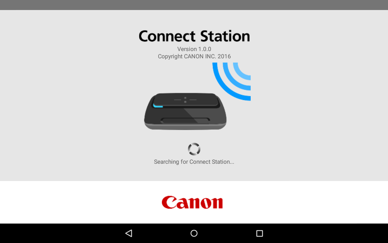 Canon Connect Station- screenshot