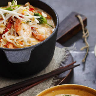Chicken and Shrimp Laksa.