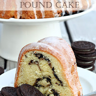 Cookies & Cream Pound Cake