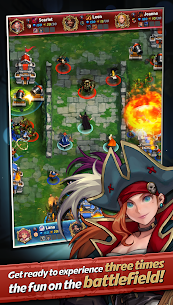 Castle Burn MOD Apk (No Delay Skills) 2