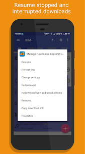 IDM+ Fastest download manager 5.0 [Pro Unlocked] Cracked Apk 5