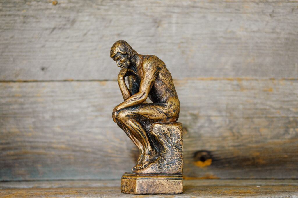 """""""The Thinker"""" statue"""