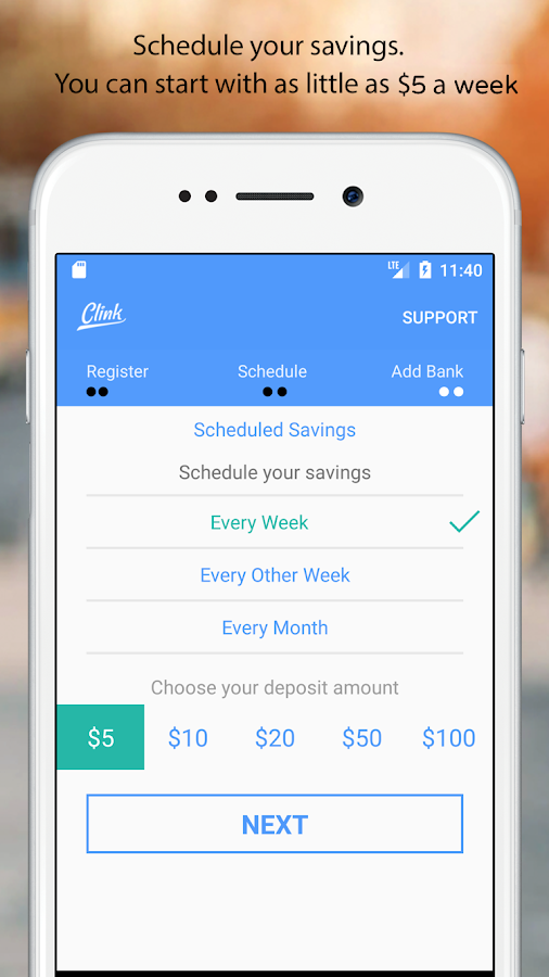 Clink: Save from $5- screenshot