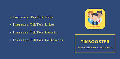 TikBooster - Fans & Followers & Likes & Hearts - Apps on Google Play