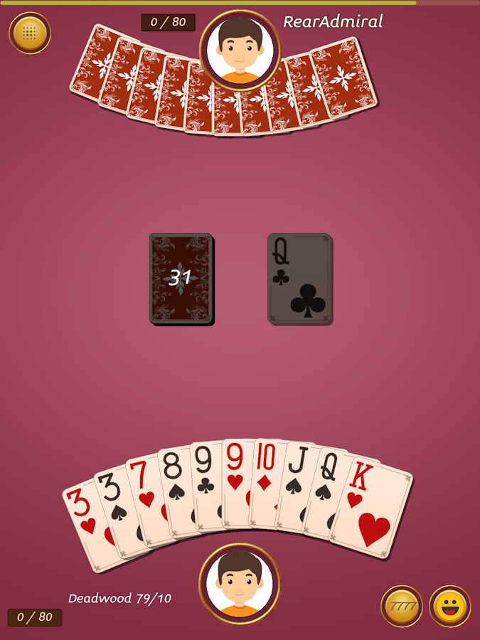 Royal Gin Rummy - Multiplayer Online Card Game- screenshot