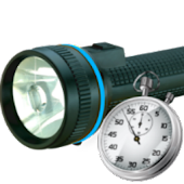 Timer Torch Flash light