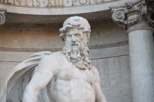Particolare Fontana di Trevi di Antonio De Felice