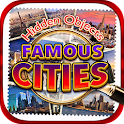 Hidden Object Famous Cities icon