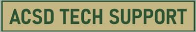 ACSD Tech Support Banner