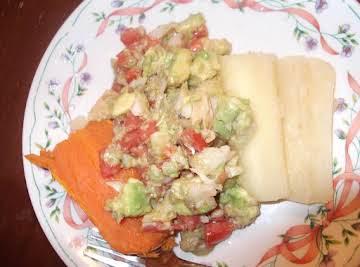 ensalada de bacalao(cod salad)