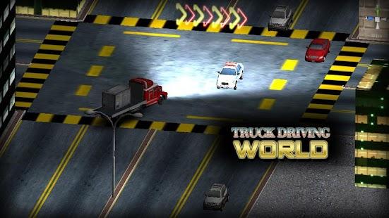 Truck Driving World screenshot