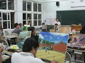 Photo: 20110920頭份(二)油畫創作 001