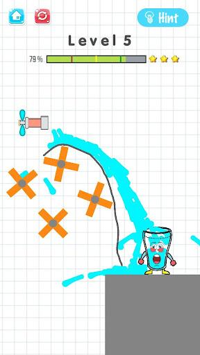 Where's My water Happy Glass 2 0 2 0  Brain Games 4.0 screenshots 6