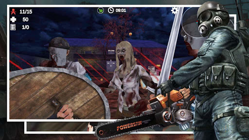 Zombie 3D Survival - FPS Gun Shooting Games Screenshot