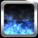 Fire Blue Live Wallpaper icon