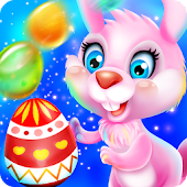 Easter Egg Bunny Bubble
