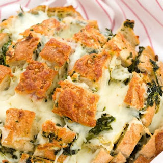 Artichoke and Spinach Dip Bread